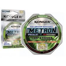 Леска METRON SPECIALIST PRO CARP & FEEDER 0.25мм /150м KONGER
