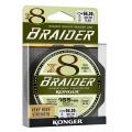 Плетенка KONGER BRAIDER X8 olive green 0.10/150m
