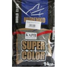 Minenko - Прикормка Super Color Карп черный 1кг.