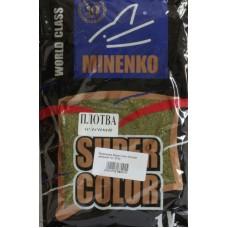 Minenko - Прикормка Super Color Плотва зеленый 1кг.