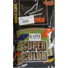 Minenko - Прикормка Super Color Карп зеленый 1кг.